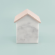 Stackers Marble with Blush House Trinket
