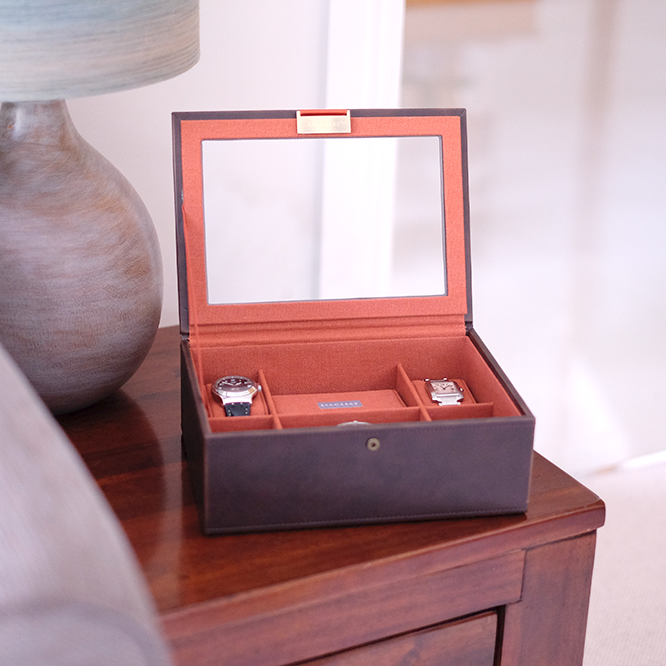 8 Piece Watch Boxes