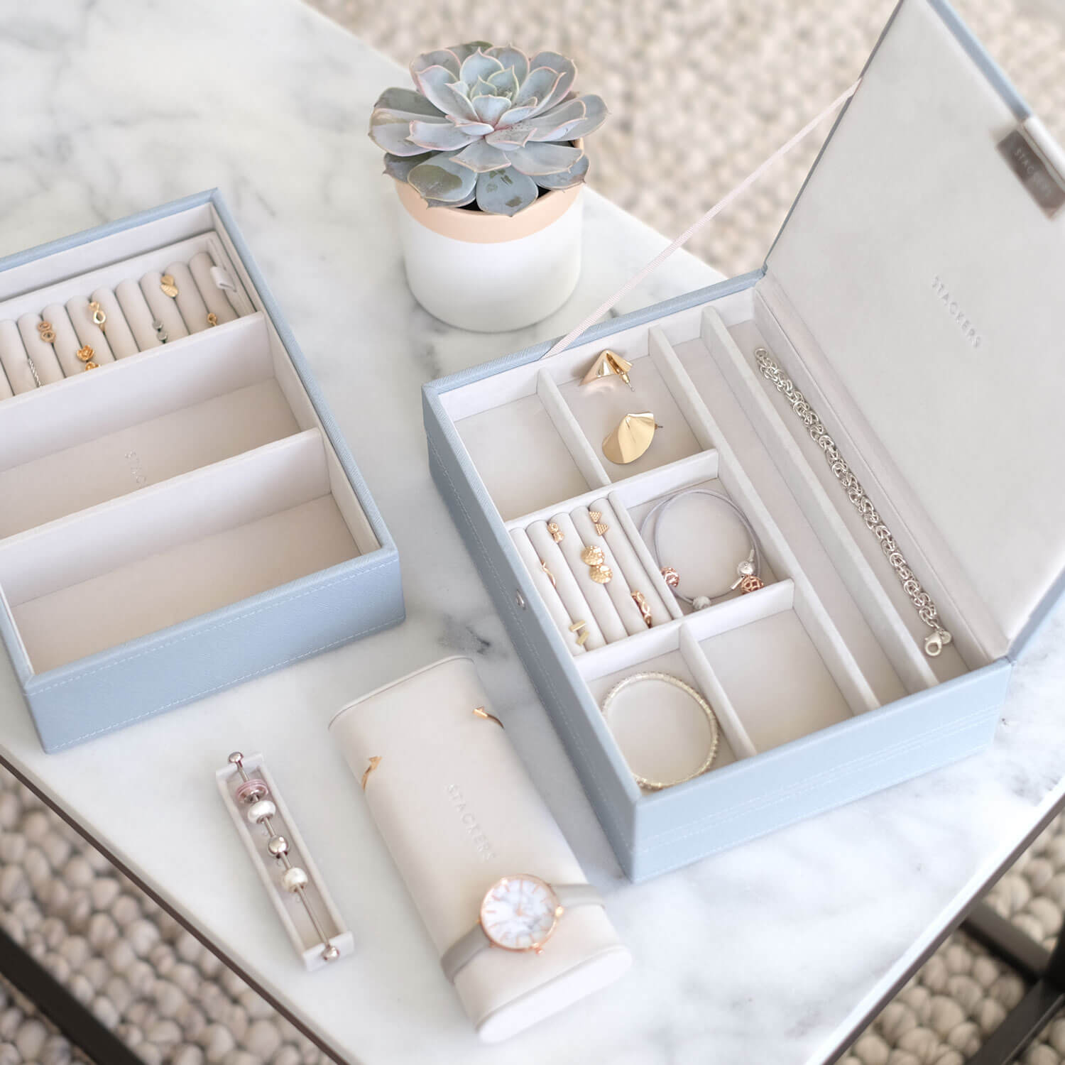 09380de0c Create a jewellery box tailored to your collection with Stackers. Shop the  world renowned Stackers jewellery boxes.