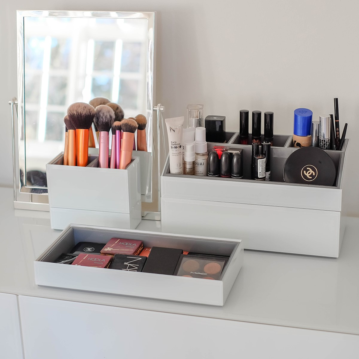 Makeup Stand Designs : Stackers makeup storage